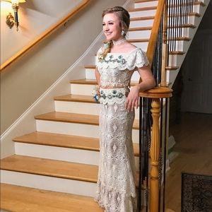 Sherri Hill boho prom